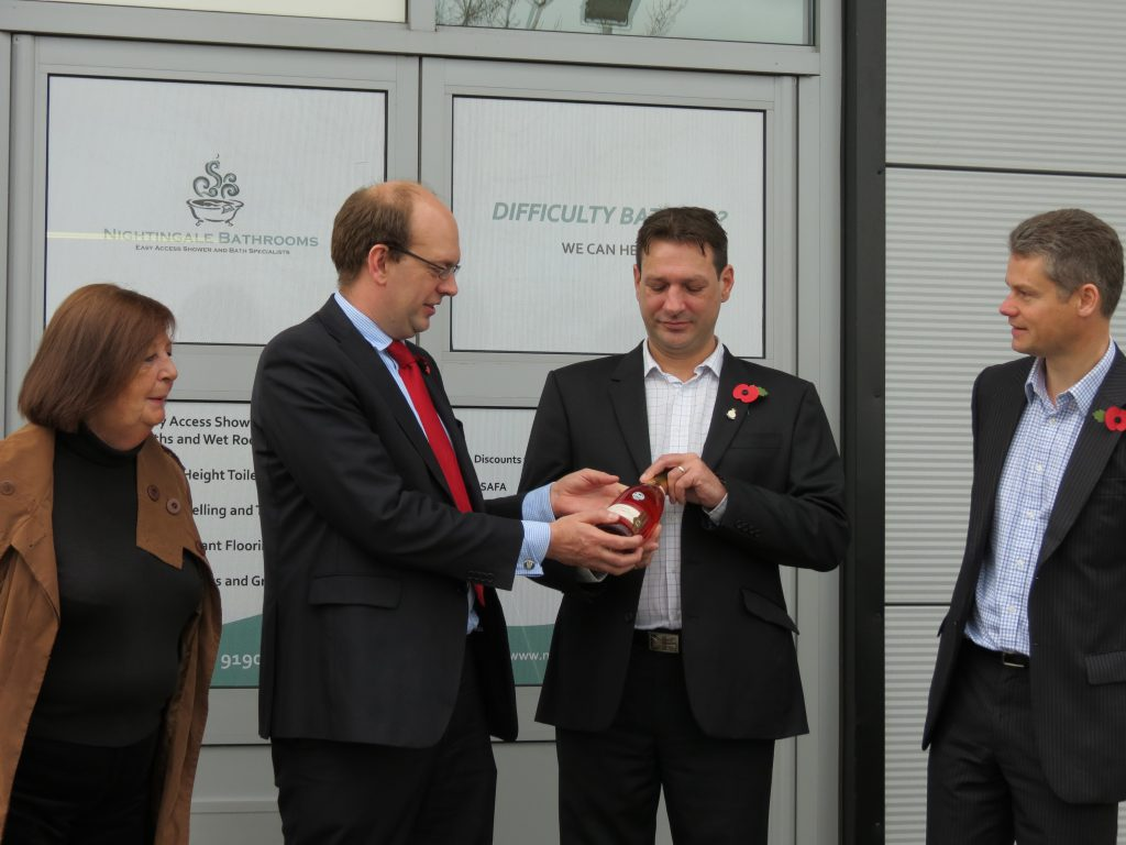 Space Business Centre Mark Reckless