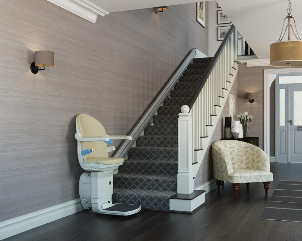 1000 Straight Stairlifts